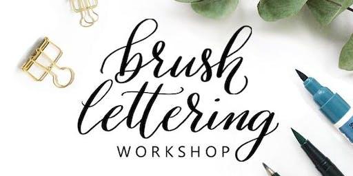 Brush Lettering Workshop für Anfänger