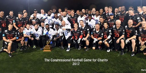 2019 Congressional Football Game for Charity
