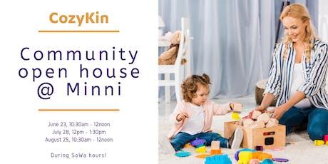 CozyKin Boston Community Open House @ Minni tickets