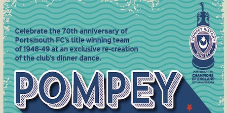Pompey: Champions of England - 70th anniversary dinner-dance tickets