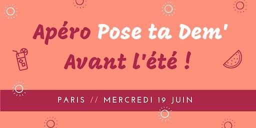 PARIS / Pose ta Dem' avant l'été !