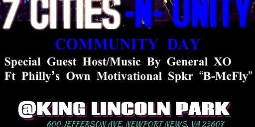 "7 CITIES -n- UNITY -Ft special guest Keisha from ""Belly"" & Philly's B-Mcfly"