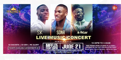 SK   SONA   A-Star  Live  Music Concert .