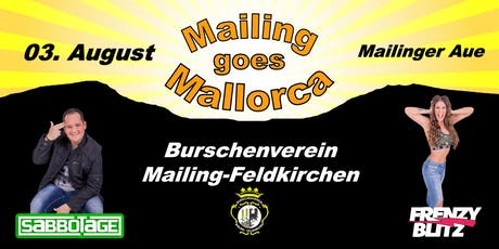 Mailling goes Mallorca 2019 Tickets