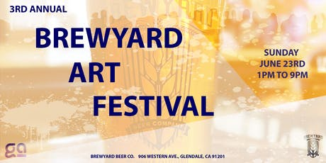 Brewyard Art Festival tickets