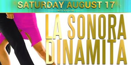 La Sonora Dinamita full band from Colombia. Noche de Verano tickets
