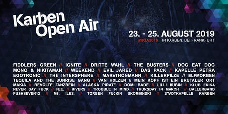 13. Karben Open Air Tickets