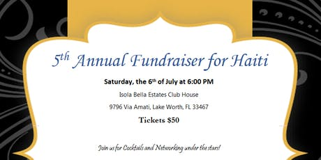 5th Annual IWTHC Fundraiser for Haiti tickets