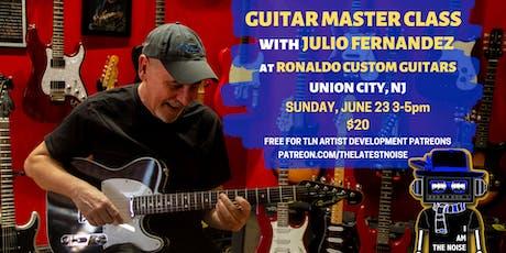 Guitar Master Class with Julio Fernandez tickets