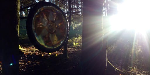 Woodland (Open Air) Gong Meditation Session, Blackmill (near Bridgend)
