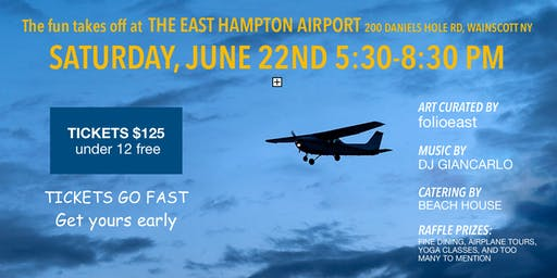 Hamptons Artists For Haiti–The 3rd annual Wings Over Haiti fundraiser
