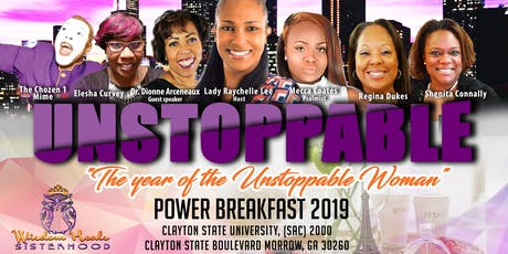 UNSTOPPABLE 2019 Power Breakfast  tickets
