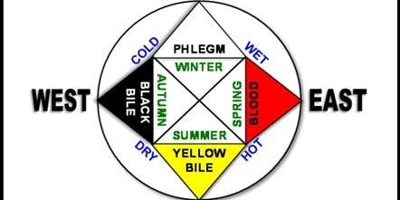 Ancient Greek Medicine Wheel - Fall