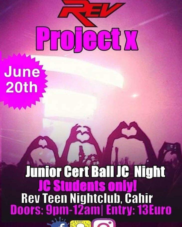 Rev Cahir Summer Jam Teenage Disco Tickets, Wed, Jun 26