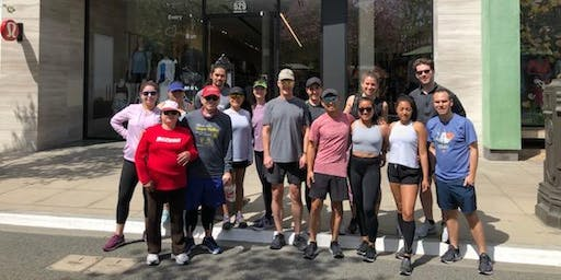 Run Club at the Americana