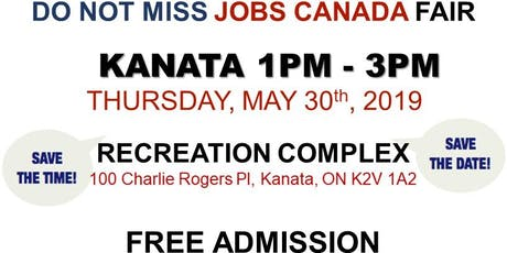 KANATA JOB FAIR – May 30th, 2019 tickets