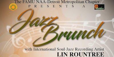 FAMU NAA Detroit Metropolitan Chapter's Jazz Brunch Scholarship Fundraiser
