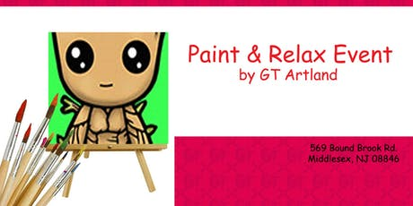 Marvel Groot Paint Jam Session BYOB tickets