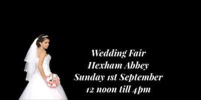 Wedding Fair Hexham Abbey