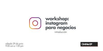 Workshop: Instagram para negocios [Introducción]