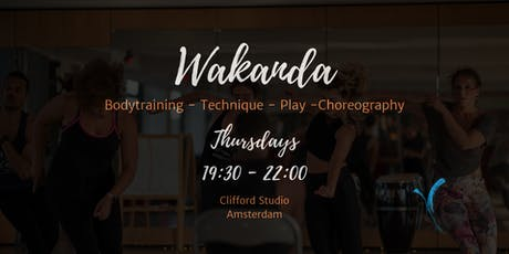 Wakanda - Home of our Dance Community tickets