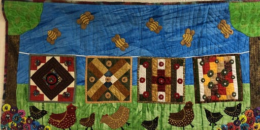 Quilted Dreams- An Artist's Tale: Trunk Show by Marquetta Bell Johnson