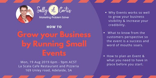 How to Grow your Business by Running Small Events