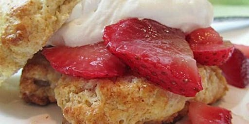 Homemade Strawberry Shortcake with an Italian twist!