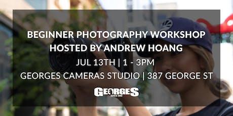 Beginner Photography Workshop July tickets