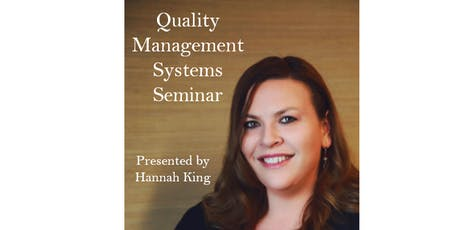 Quality Management Systems Seminar tickets