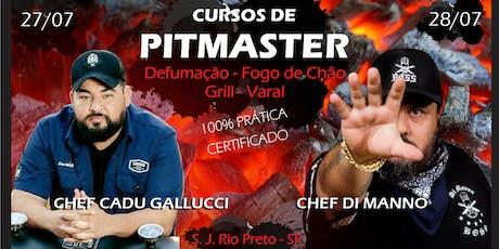 Cursos de Pitmaster>Smoker-Fogo de Chão-Grill-Varal ingressos