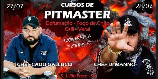 Cursos de Pitmaster>Smoker-Fogo de Chão-Grill-Varal