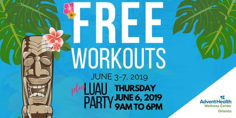 AdventHealth Wellness Center Luau tickets