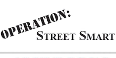 Operation Street Smart  tickets