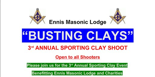 3rd annual Bustin Clays Fundraiser