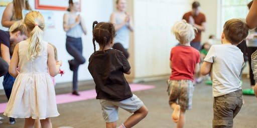 PLAY'S Summer Yoga Camp Class 2: Family Yoga (10 AM to 11:00 AM)