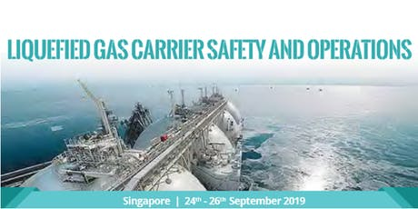 Liquefied Gas Carrier Safety and Operation tickets