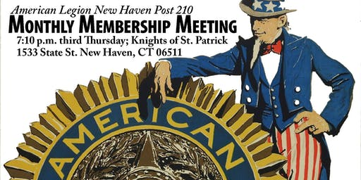 Legion Monthly Member Meeting