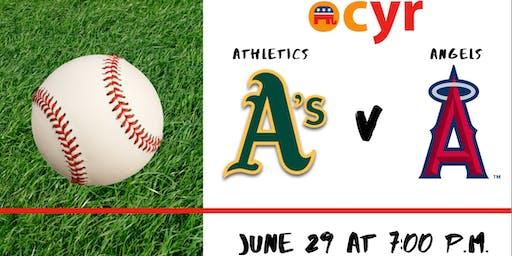June 29: OCYR Angels Game