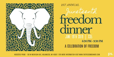 Juneteenth Freedom Dinner tickets