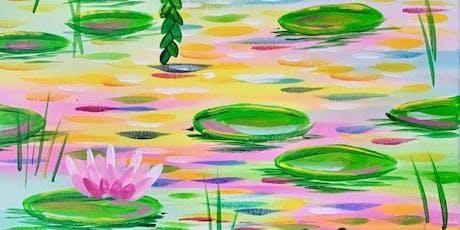 Waterlilies (2hr Paint & Sip) - BYO Food & Drink tickets