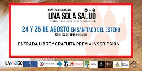 Conv. Regional UNA SOLA SALUD Tucumán-Catamarca-Salta-Jujuy-Sgo. del Estero entradas