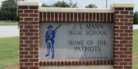 J.L. Mann High Class of 1999 20 Year Reunion! tickets