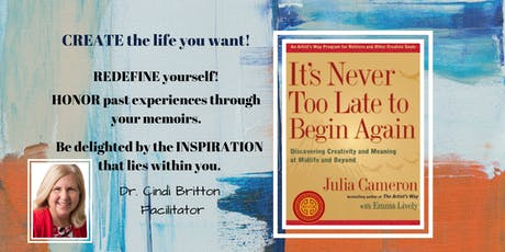 It's Never Too Late to Begin Again - REFRESH - RENEW - RECOMMIT tickets