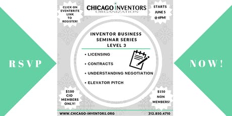 Inventor/Entrepreneur Business Seminar Series (Level 3) - ONLY 10 SEATS AVAILABLE! tickets