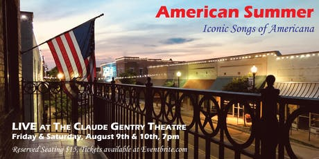 American Summer, Iconic Music of Americana - Opening Night tickets