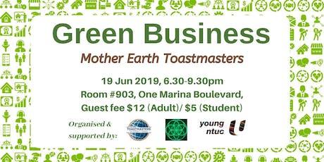 Green Business tickets
