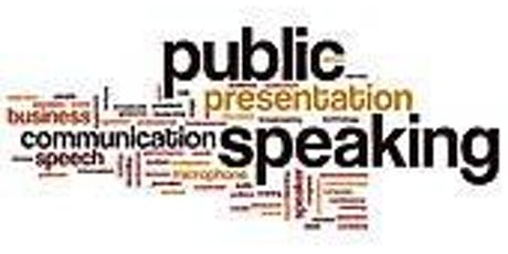 PUBLIC SPEAKING FOR COMMUNITY ORGANISATIONS: AWESOME AND AUTHENTIC tickets