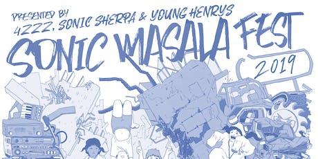 Sonic Masala Fest 2019 tickets