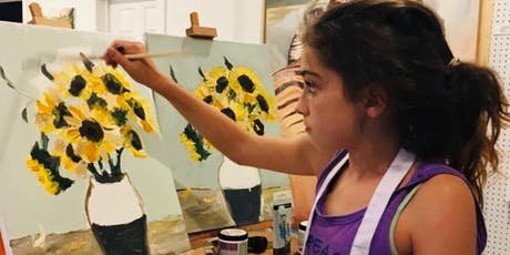 Summer art camp! Painting and mosaic(6-12yrs) tickets